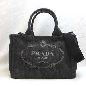 Prada Bag Kanapato Tote PM Canvas Ladies Handbag 1BG439 PRADA