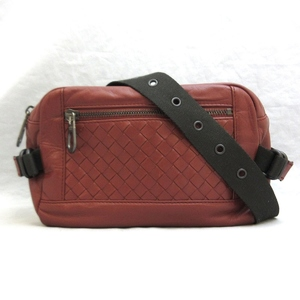 Bottega Veneta Bag Waist Body Intrecciato Leather Mens Brown 37110960 BOTTEGA VENETA