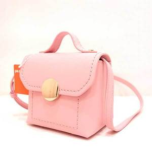Folli Follie Foli Bag Shoulder Hand Mini Sugar Sweet 2way Leather Pink Ladies FolliFollie