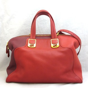 Fendi Boston Bag Shoulder Chameleon 8BL110 00B86 2WAY Leather Ladies FENDI
