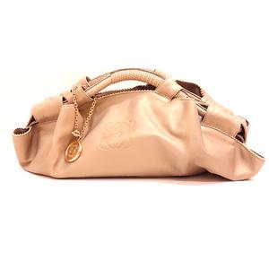 Loewe Bag Handbag Nappa Aire Leather Champagne Gold Ladies LOEWE