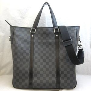 Louis Vuitton Bag Tadao 2WAY Tote Shoulder Damier Graphite Men's N51192 LOUISVUITTON