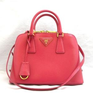 Prada Handbag Saffiano BL0838 Triangle Logo Women's PRADA