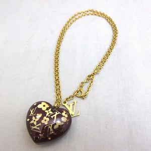 Louis Vuitton Pandantiff Cool Unclude Necklace M66294 Gold Hardware LOUIS VUITTON