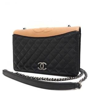 Chanel Bag Shoulder Single Chain Matrasse By Color Coco Mark Calf Ladies CHANEL