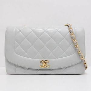Chanel Bag Shoulder Single Chain Matlass Lambskin Light Blue A01164 Ladies CHANEL