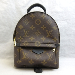 Louis Vuitton Palm Springs Mini Backpack Brown Rucksack Bag Ladies Monogram M41562 LOUISVUITTON
