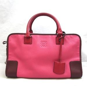 Loewe bag Amazona 36 leather handbag bicolor LOEWE