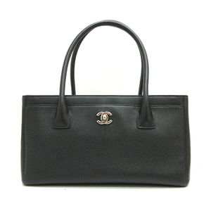 Chanel Executive Tote Bag Hand Black Coco Mark Ladies Calf A67282 CHANEL