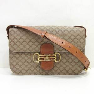 Celine Shoulder Bag Vintage Macadam Ladies PVC x Leather CELINE