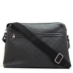 Louis Vuitton Bag Shoulder Calypso GM Damier Infineonyx Black N41204 Mens LOUISVUITTON