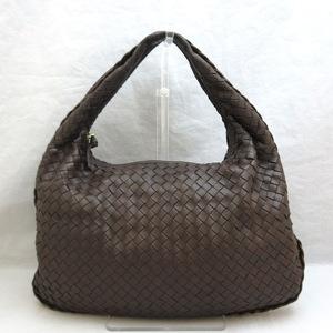 Bottega Veneta Hobo One-shoulder Bag Intrecciato 115653 Brown Ladies