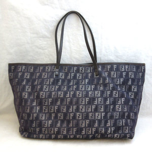 Fendi Tote Bag Hand Denim Ladies Men's FENDI