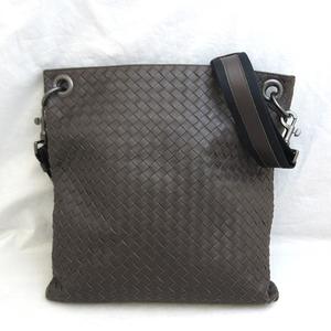 Bottega Veneta Shoulder Bag Brown Intrecciato Men's Calf 161623 BOTTEGAVENETA
