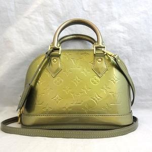Louis Vuitton bag Verni Alma BB gliard deco hand shoulder M91677 LOUISVUITTON