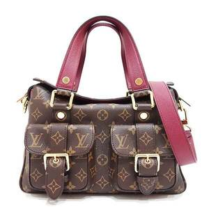 Louis Vuitton Bag Tote Hand Shoulder Manhattan 2way Monogram Leysin M43482 Ladies LOUISVUITTON