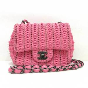 Chanel bag mini churn shoulder cloche pink A68801 CHANEL