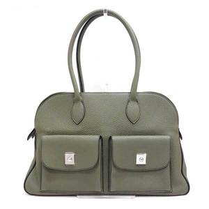Hermes Bag Tote Calabas 43 Taurillon Clemence Ladies HERMES