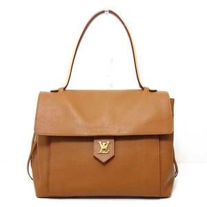 Louis Vuitton Bag Handbag Lock Me PM Calf Leather Tan Brown M54013 Ladies LOUISVUITTON