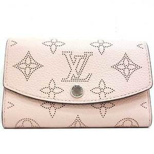 Louis Vuitton Wallet Coin Purse Porto Monetanae Monogram Mahina Magnolia Pink M64050 Ladies LOUISVUITTON