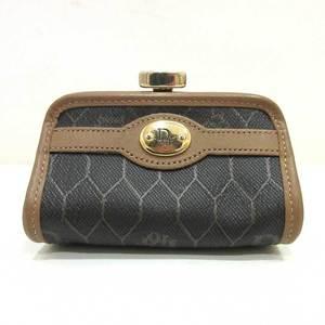 Christian Dior coin case purse mini accessory ladies PVC x leather ChristianDior
