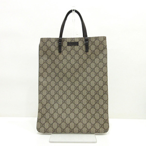 Gucci Tote Bag Hand Brown Ladies Mens GG Plus 117551 GUCCI