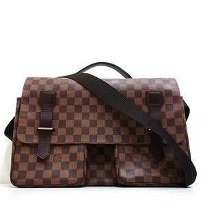 Louis Vuitton Bag Shoulder Messenger Broadway Damier Ebene N42270 Ladies Men LOUISVUITTON