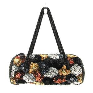 Folli Follie Handbags Mini Bags Multi Color Accessories Pouches Flower Motif Women's Beads x Sequins FolliFollie