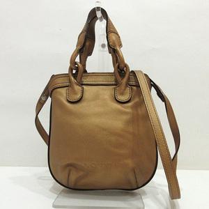Loewe Fiesta Metallic Shoulder Bag Pochette Handbag 2way Ladies Leather LOEWE