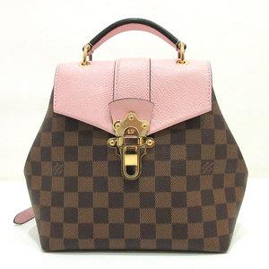 Louis Vuitton Clapton Pink × Brown Magnolia Evenu Mini Rucksack Backpack Ladies Damier M42262 LOUISVUITTON