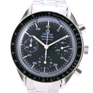 OMEGA Speedmaster 3510.50 Stainless Steel Automatic Mens Black Dial Watch