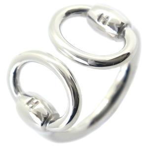 HERMES Nozika Nausicaka Silver No. 7 Ladies Ring
