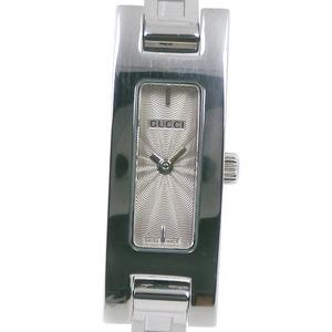 GUCCI Gucci 3900L Stainless Steel Quartz Ladies Gray Dial Wrist Watch