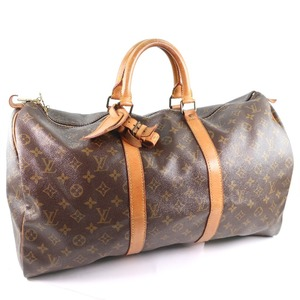 LOUIS VUITTON Louis Vuitton Keepall 50 M41426 Monogram Canvas Unisex Boston Bag
