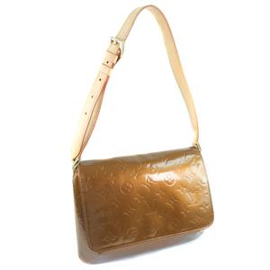 LOUIS VUITTON Louis Vuitton Thompson Street M91124 Monogram Verni Bronze Ladies Shoulder Bag