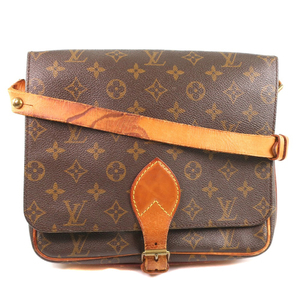 LOUIS VUITTON Louis Vuitton Cartociere M51253 Monogram Canvas Women Shoulder Bag