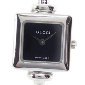 GUCCI Gucci 1900L Stainless Steel Quartz Ladies Black Dial Wrist Watch