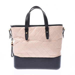 CHANEL Gabriel De Beige Ladies Calf 2WAY Bag