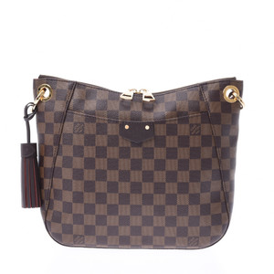 LOUIS VUITTON Louis Vuitton Damier South Bank Brown N42230 Ladies Shoulder Bag