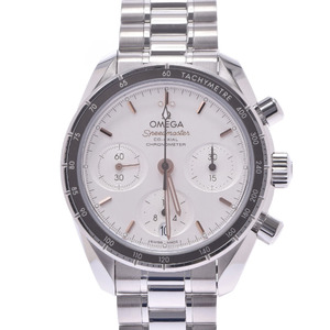 OMEGA Omega Speedmaster Co-Axial Chrono 324.30.38.50.02.001 Men's SS Watch Automatic Dial