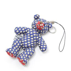 Salvatore Ferragamo bear motif strap bag charm navy