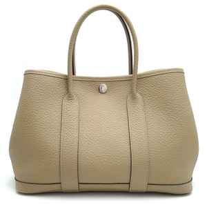Hermes Garden Party TPM C engraved ladies handbag country trench DH57261