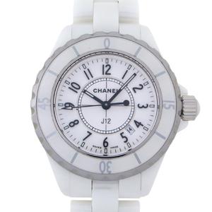 CHANEL J12 Ceramic Quartz Ladies Watch H0968