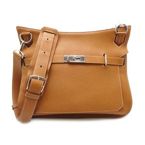 Hermes Gypsiere 34 □ M Engraved Ladies Shoulder Bag Togo Gold (Brown) DH57223