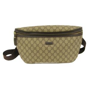 GUCCI Gucci body bag waist ladies PVC coating 211110