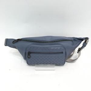 BOTTEGA VENETA intrecciato belt bag waist calf