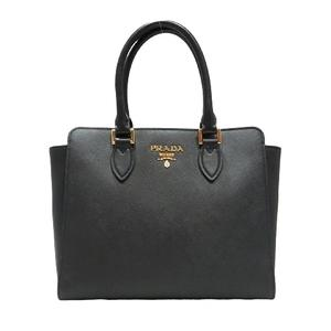 PRADA Prada Saffiano 2way tote bag shoulder NERO SAFFIANO + SOFT C 1BA113