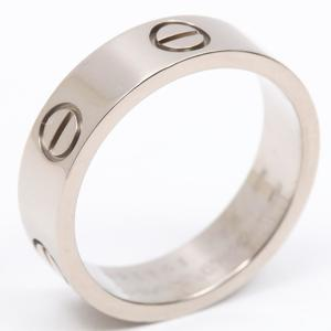 Cartier love ring K18WG 750 white gold # 56 16
