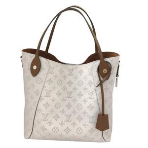 LOUIS VUITTON Louis Vuitton Hina MM Tote Bag Ladies Shoulder Blum Monogram Mahina M55552