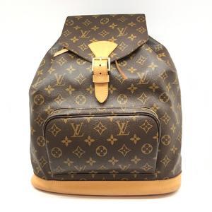 LOUIS VUITTON Louis Vuitton monsuri GM rucksack bag pack monogram M51135
